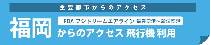 福岡からのアクセス FDA